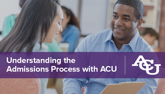 Understanding the ACU Online Admissions Process