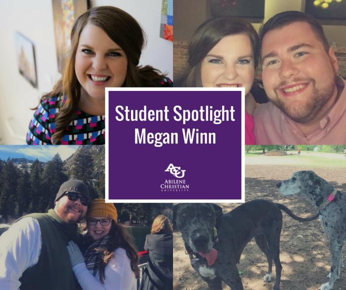 Student Spotlight - Megan Winn