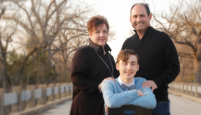 ACU Online Student Dawn Parker and Family
