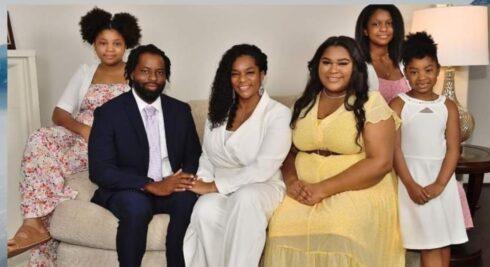 Edmund Garcia and his family