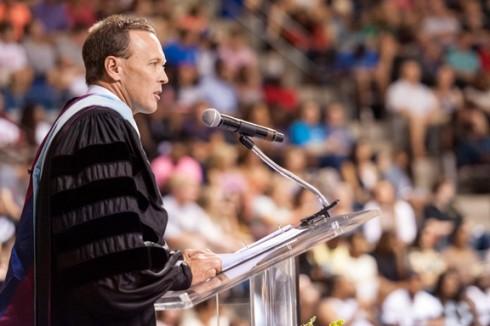 ACU president Dr. Phil Schubert ('91)
