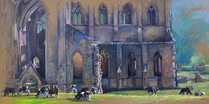 Tintern and Cows