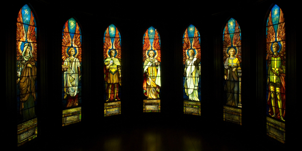 In the Company of Angels-All 7 Windows