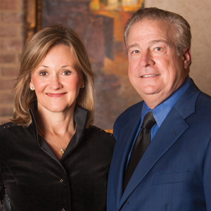 Kathy and David Halbert