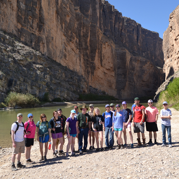 Big Bend 2013 Biology on River