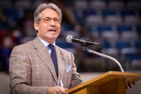 Eric Metaxas in Chapel