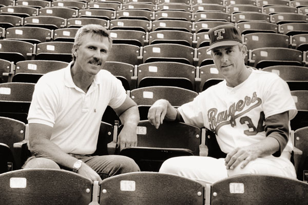 Gilbreth remained friends with his former teammate Nolan Ryan after the two played together in California.