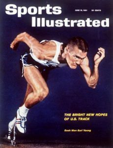 The June 19, 1961, issue of Sports Illustrated featured Earl Young ('62).