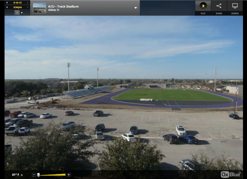 Elmer Gray Stadium Webcam Screen Shot