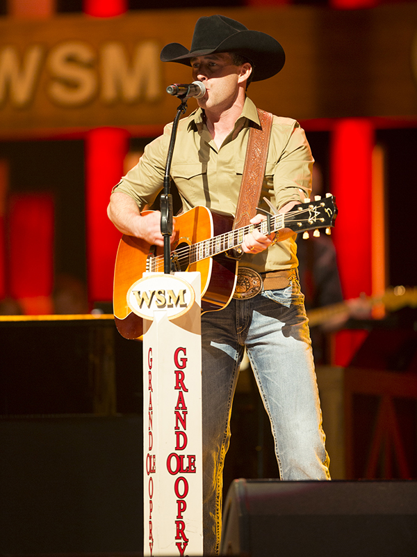 Watson has the current top-selling country album in the world.