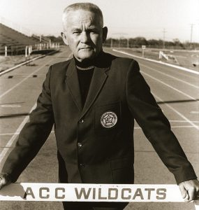 Bill McClure succeeded Oliver Jackson as Wildcat head coach, carrying on the tradition of record-setting performances in track and field.