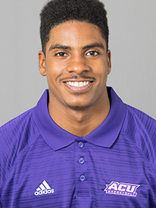 ACU men's basketball guard Isaiah Tripp