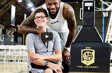 This video captures the exceptional story behind Nike Flyease, an easy-entry footwear system designed by ACU alumnus Tobie Hatfield to help athletes of all abilities and ages perform better.