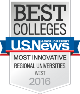 ACU ranked No. 2 in the West in a new category of the nation's most innovative academic Institutions.