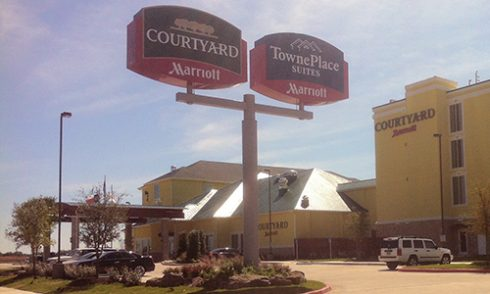 Abilene's two newest hotels are adjacent to each other, just north of Interstate 20 and near campus at Exit 288.