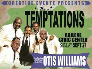Temptations concert promo
