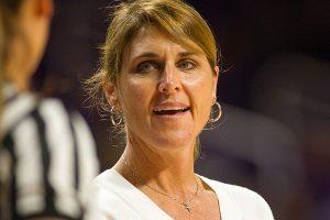 Women's head coach Julie Goodenough