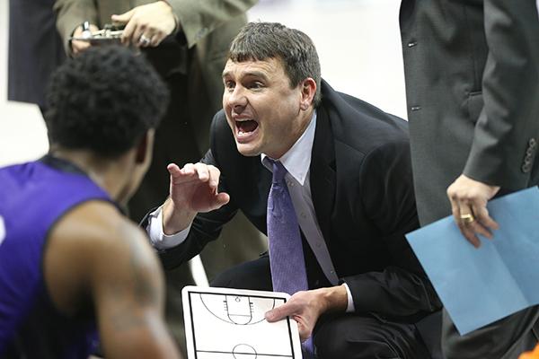 Head men's coach Joe Golding
