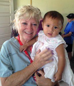 Beth Horner in Belize