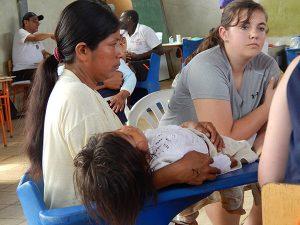 Catherine Longest in Ecuador