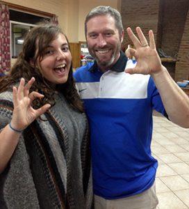 Catherine Longest and Dr. Scott Bedichek