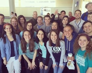 ACU students prepare to board a plane for a medical missions trip to Guatemala.