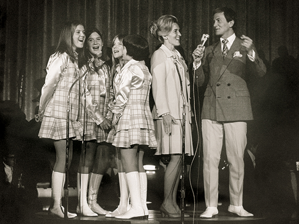 Pop music star Pat Boone and his family performed on Saturday night at Sing Song in 1970, which was televised live in Abilene by KTXS-TV.