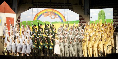 The senior class brought The Wizard of Oz to life in 2013.