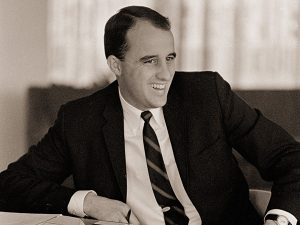 Dr. Gary McCaleb was Sing Song director from 1964-1973.