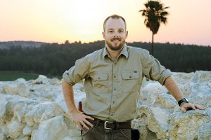 Dr. Rob Homsher, a former student of Dr. Mark Hamilton, is carving a notable career in biblical archaeology.