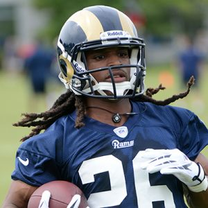 Richardson's NFL career started with the St. Louis Rams in 2012.