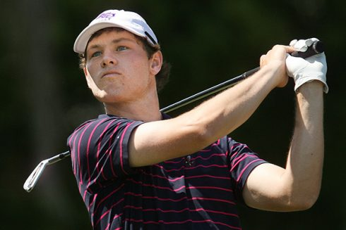 Carpenter's iron play as an amateur impressed Palmer in the PGA legend's namesake tournament in 2011.