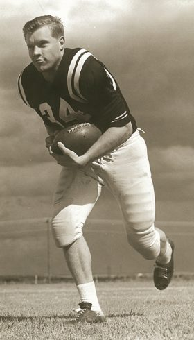 Bill Locke was a Wildcat fullback.