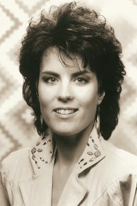 Holly Dunn in 1987 at the height of her recording career with MTM Records.
