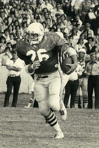 Kelly Kent was a hard-nosed fullback for the Wildcats.