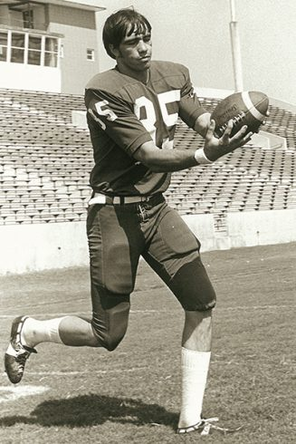 Ronnie Vinson was a standout receiver for the Wildcats.