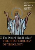 Dr. Frederick Aquino's book cover on The Oxford Handbook of Epistemology