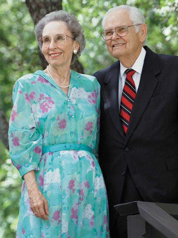 Ruth (Rambo '46) and Dr. John C. Stevens ('38)