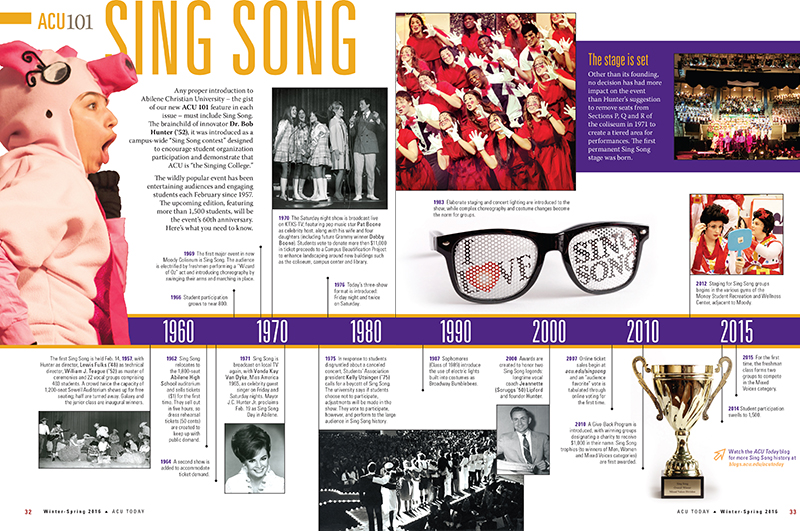 Sing Song 101 spread