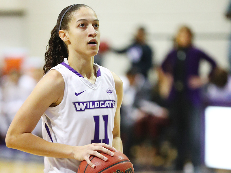 Sarah Willamson is the Wildcats' third-leading scorer.
