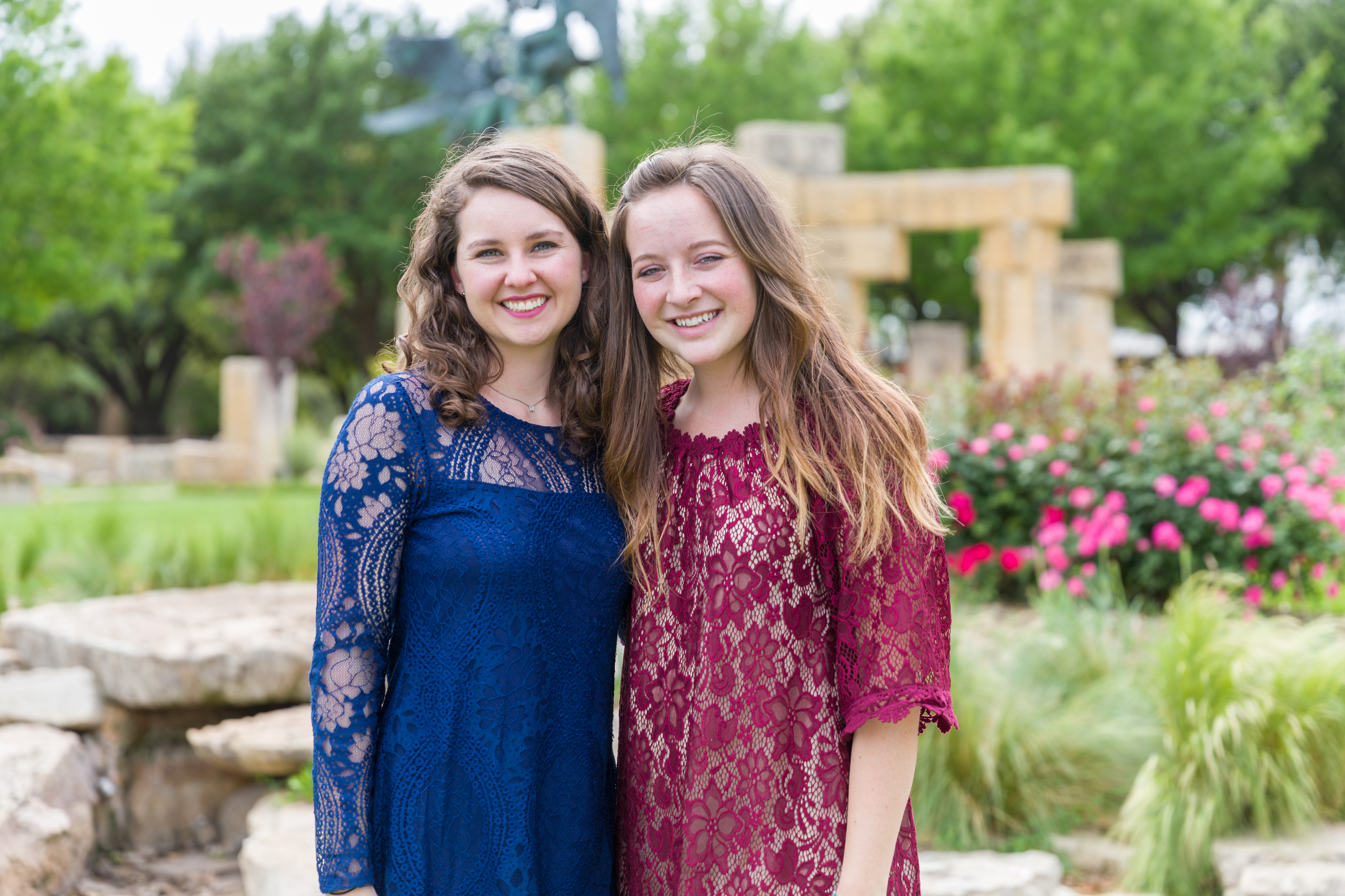 Mackenzie Sanderson, left, and Lindsie Lawson made history when both received Fulbright Scholar Awards, the first time for two ACU students to receive the honor in the same year.