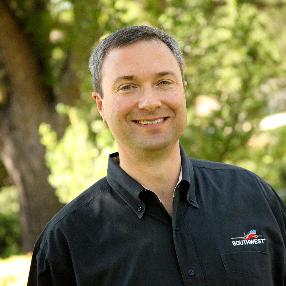 Chris Monroe, treasurer for Southwest Airlines