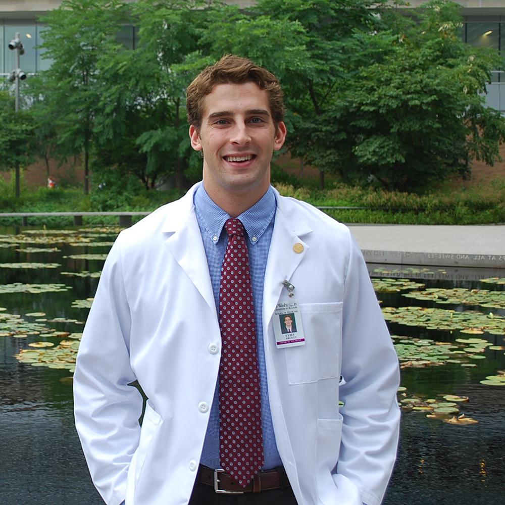Cliff Pruett ('14) earned his B.S. in Biochemistry at ACU.