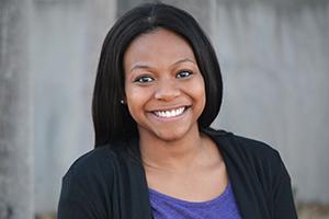 Cydnee Baker, math education major from Arlington.