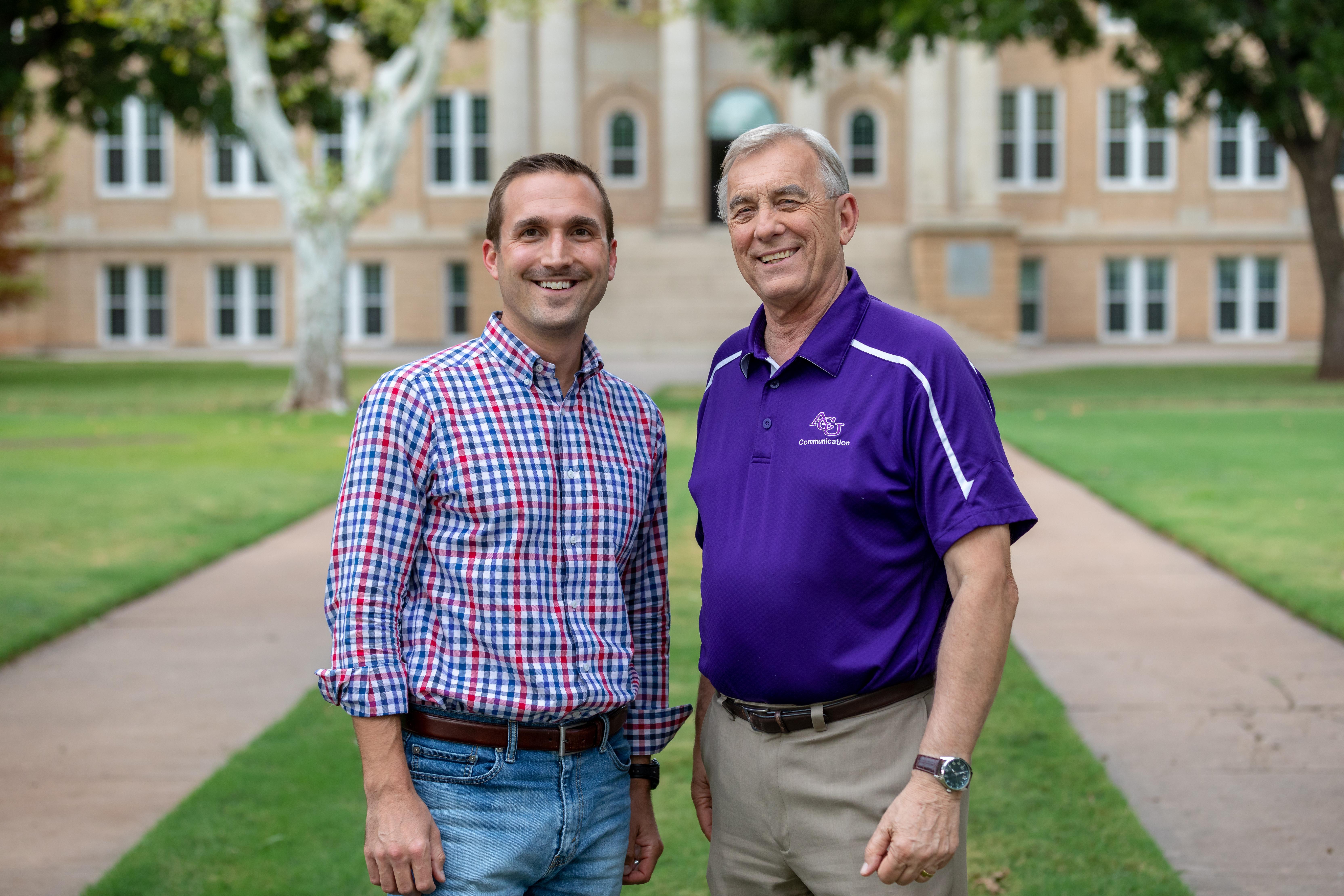 Dr. Justin Velten (left) and Dr. Carley Dodd