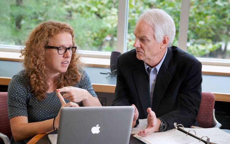 Charles Holton, J.D., law professor at Duke University, directs the Civil Justice Clinic, which provides legal services to economically disadvantaged clients.