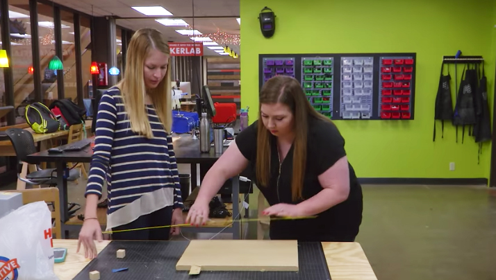 Occupational therapy students adapt toys for special needs children