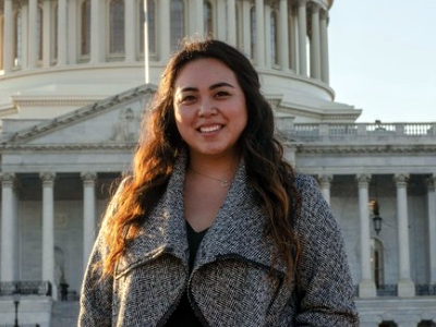 Shannon Que, along with her faculty adviser Dr. Stephen Baldridge, was awarded the Shared Justice Student-Faculty Research Prize from the Center for Public Justice.
