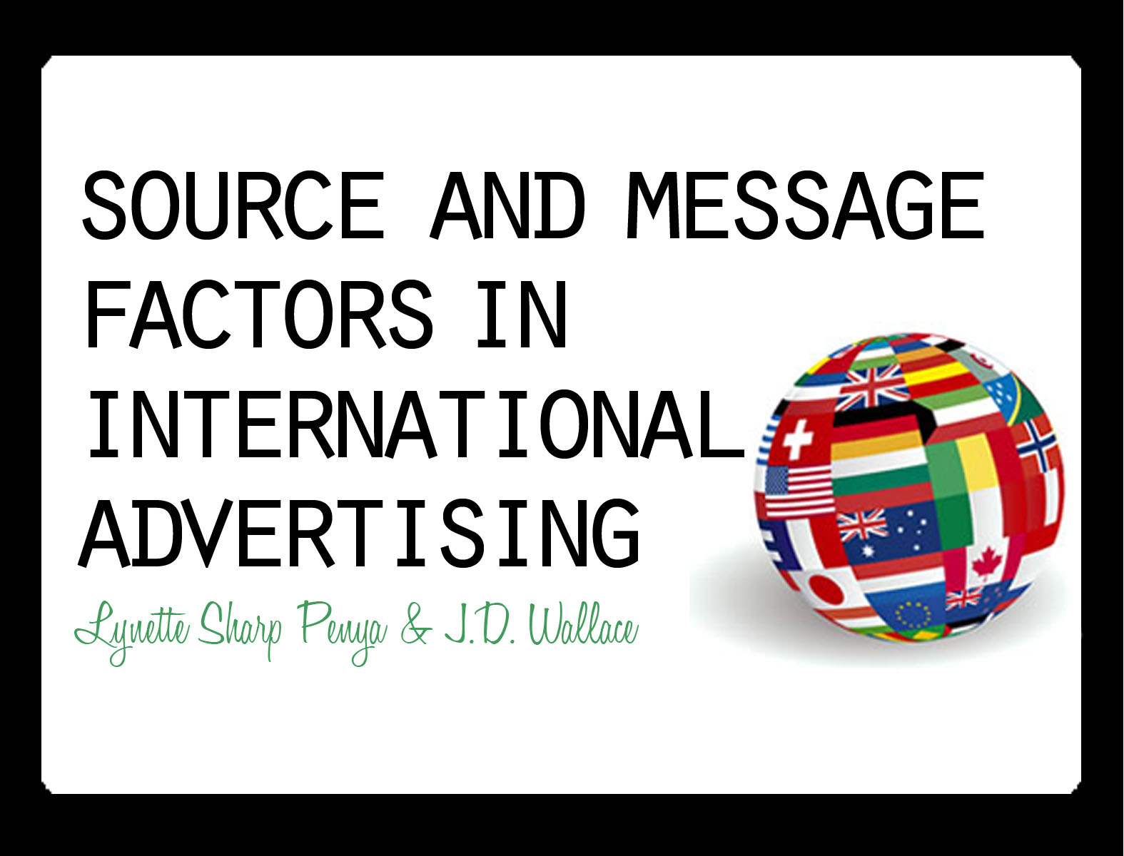 attitude towards advertising The attitude toward advertising in general and attitude toward specific ads: is it the same influence whatever the countries christian dianoux.