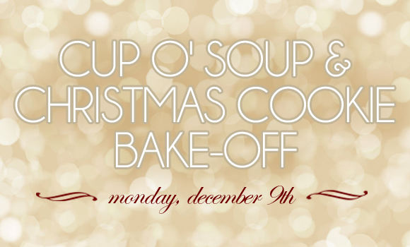 Cup O Soup Christmas Cookie Bake Off Adams Center